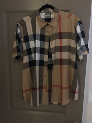 Burberry button up shirts. for Sale in West Covina, CA