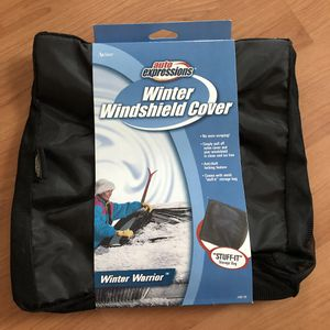 Auto Expressions Winter Windshield Cover for Sale in Revere, MA