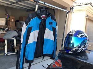 Kawasaki XL Jacket & HJC Helmet (Motorcycle) for Sale in Las Vegas, NV