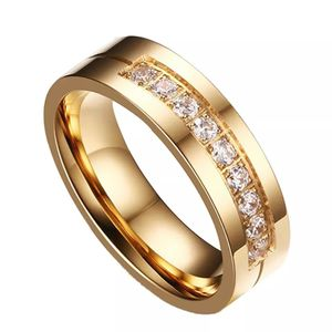 Unisex 18K Gold plated Engagement Ring- Code RI3 for Sale in Dallas, TX