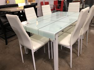 Dining table with 6 chairs. Clearance. Last item. for Sale in DeSoto, TX