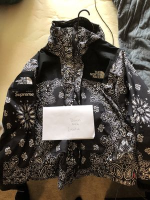 North face Paisley Parka Supreme for Sale in Columbia, MD