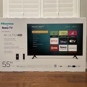 "55"" Hisense 6 Series Roku 4k UltraHD TV for Sale in Corona, CA"