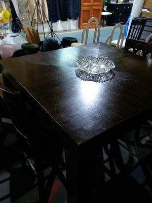 Wooden Table w/ 2 chairs for Sale in Detroit, MI