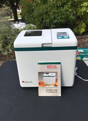 Regal automatic bread maker large capacity. Used sold as is for Sale in Glenview, IL