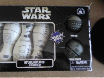 Star Wars Imperial 10 Pin Bowling Set for Sale in Holladay,  UT