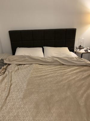 Queen bed frame (and free mattress)! for Sale in New York, NY