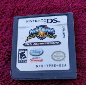 Power Rangers Super Legends game for Nintendo DS for Sale in Las Vegas, NV