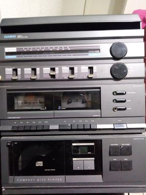Casio stereo music system for Sale in West Palm Beach, FL