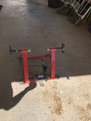 Stationary bike stand for Sale in Jackson, CA