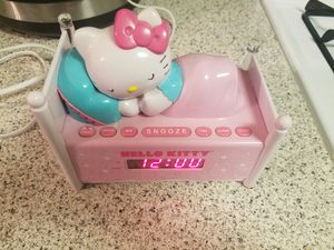 HelloKitty alarm clock for Sale in Anaheim, CA