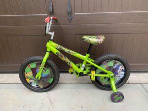 "16"" Teenage Mutant Ninja Turtles Bike with Training Wheels for Sale in Apex, NC"
