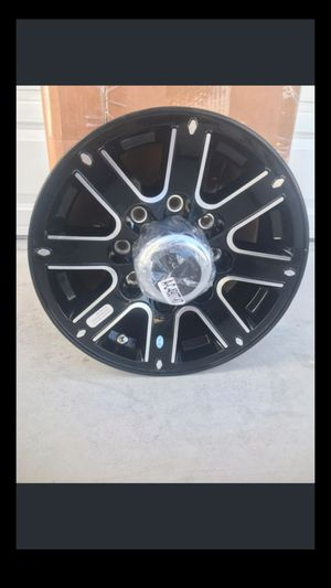 8 lug aluminum trailer wheel #6 fifth wheel gooseneck goose neck hot shot rv camper flat bed car hauler equipment for Sale in Pahrump, NV