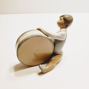 Lladro Figurine 4616 Boy Playing Drum retired for Sale in Saratoga, CA