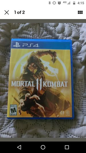 Mortal Kombat 11 PS4 for Sale in Olathe, KS