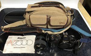 Vintage, Nikon N2000 film camera w/ Tokina 28-70mm lense for Sale in Vancouver, WA