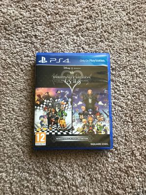 Kingdom hearts HD 1.5 2.5 remix for Sale in Gaithersburg, MD