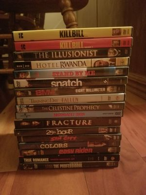 Stack of Action Flicks & Dramas on DVD for Sale in Portland, OR