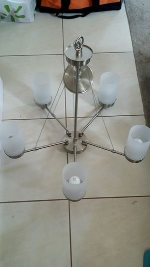 Stainless Steel Chandelier for Sale in Corona, CA
