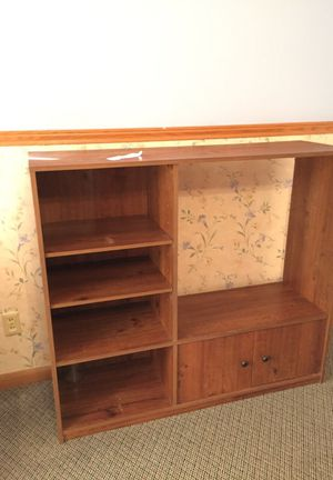 Entertainment center shelves and storage for Sale in Abilene, TX