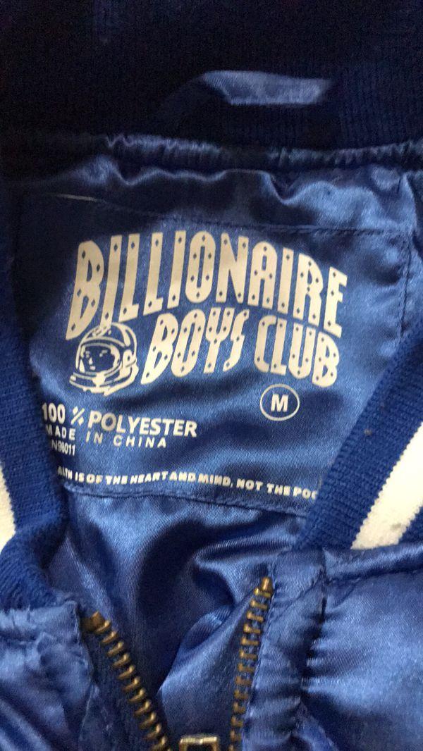 Billionaire Boy Club Helment Logo Jacket