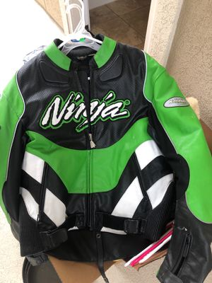 Xl ninja sports bike motorcycle bike jacket and protective gear for Sale in Spring, TX