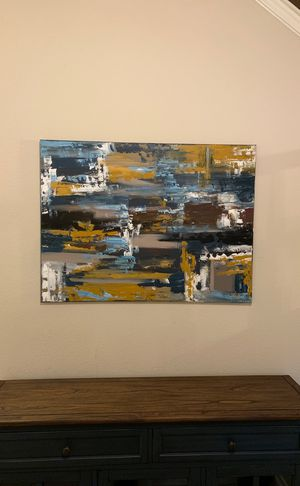 Hand painted abstract modern artwork for Sale in Helotes, TX