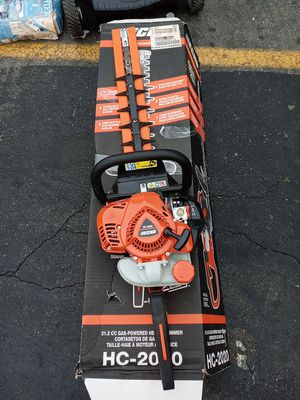 ECHO 20 in. 21.2 cc Gas 2-Stroke Cycle Hedge Trimmer for Sale in Gardena, CA
