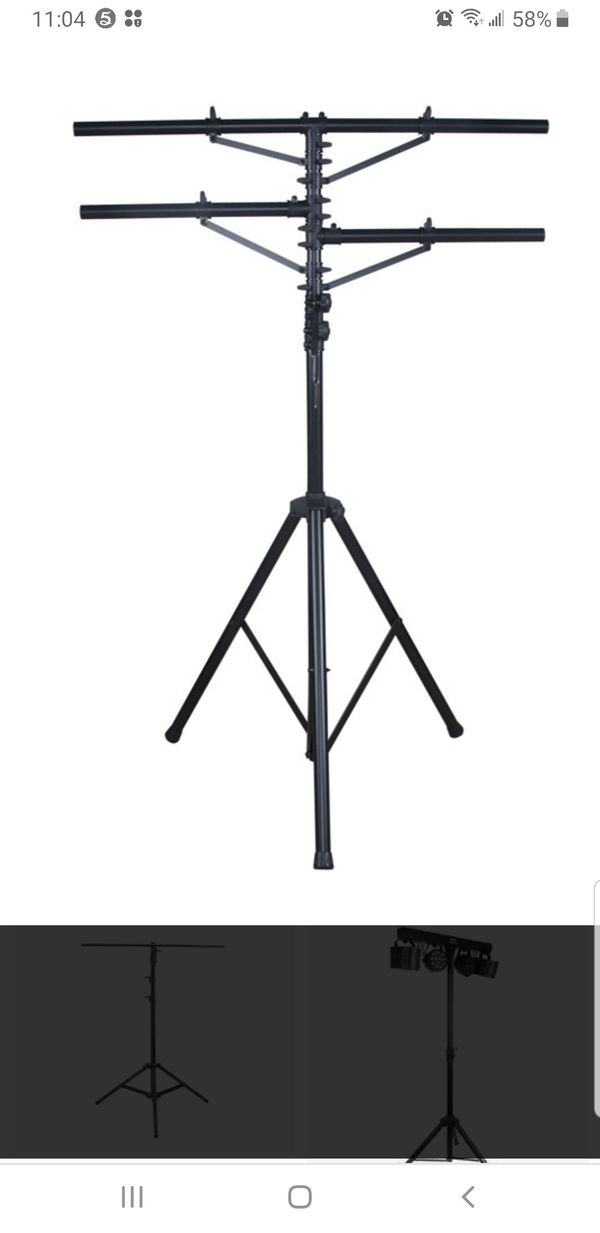 Pro Audio Mobile DJ Lighting Multi Arm T Bar