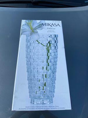 Mikasa Crystal Vase for Sale in Dallas, TX