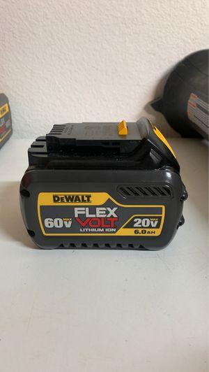 DEWALT FLEX VOLT 6.0 AH BATTERY for Sale in Glendora, CA