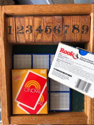 Handmade box card game for Sale in Auburndale, FL