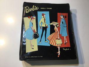 Vintage 1961 Ponytail doll case Barbie storage wardrobe vinyl mid century modern for Sale in Phoenix, AZ