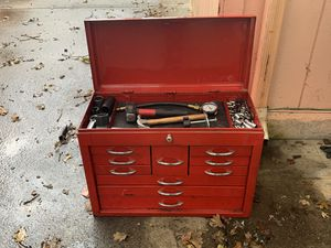 Craftsman ToolBox With Tools for Sale in Vancouver, WA