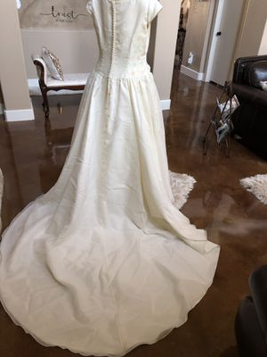Beautiful cherry blossom Wedding dress for Sale in Harker Heights, TX