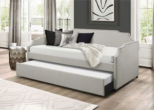 Twin Size Day Bed with Twin Trundle for Sale in South Gate, CA