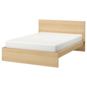 Brand NEW bed frame + used orthopedic mattress for Sale in Los Angeles, CA