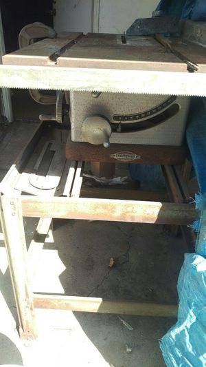 Vintage Craftsman 1960 Table Saw for Sale in San Leandro, CA