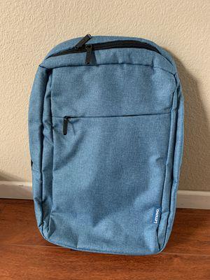 Lenovo 15.6 laptop backpack Blue for Sale in Yorba Linda, CA