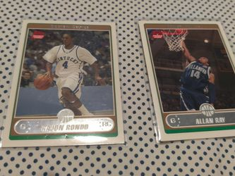 2006 Allan Ray And Rajon Rondo Rookie Cards for Sale in Ravenna,  OH