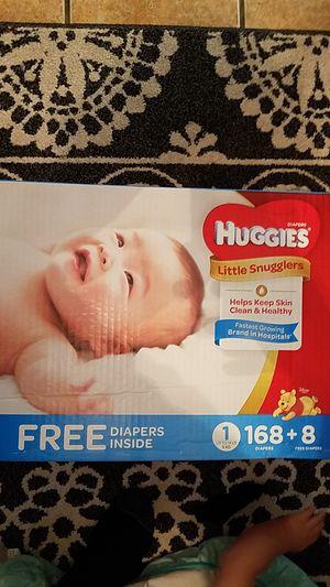 1 Huggies 176 diapers for Sale in Long Beach, CA