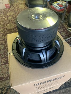Sundown car audio. 12 inch car stereo subwoofers. 1000 watts RMS . 3000 watts peak . New for Sale in Mesa, AZ