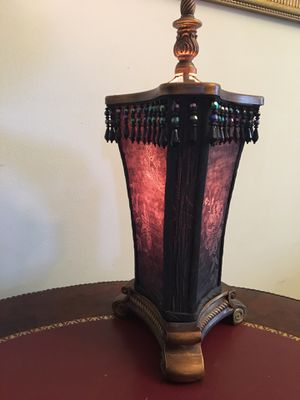 """Antique Lamp Height 17"""" Width 8"""" for Sale in FL, US"""