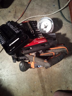 Ridgrid Brushless Circular Saw with 4Ah Ridgid Battery. ,2 Hollow blades. 2 Sets of Mechanic socket. for Sale in Anaheim, CA