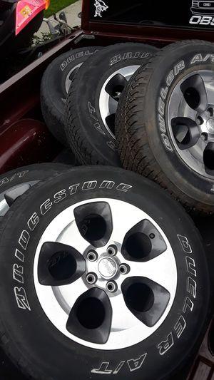 Jeep wrangler Sahara wheels for Sale in National City, CA