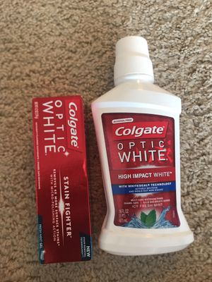 Optic White toothpaste & mouthwash for Sale in Chevy Chase, MD