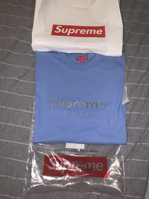 Supreme silver bars tee for Sale in Wesley Chapel, FL