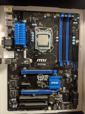 *READ* Core i3 4170 / Z97 MSI PC mate for Sale in Darien, IL