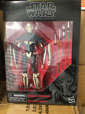 STAR WARS Black Series White Box First Edition Exclusive for Sale in El Cajon, CA