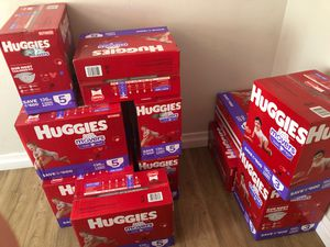 HUGGIES SIZE 3 AND 5 for Sale in San Diego, CA